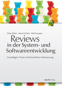 Book cover: Reviews in der System- und Softwareentwicklung